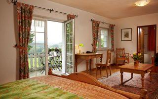 Deluxe Zimmer mit Balkon im ersten Geschoss