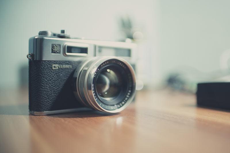 Klassische Fotokamera